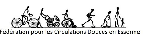 logo de la Fédération pour les circulations douces en Essonne.
